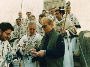Visita di Osvaldo Bevilacqua - Sereno Variabile 2001.