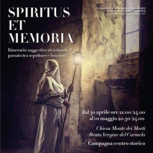 Locandina Spiritus et memoria.
