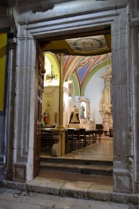 Entrata Chiesa - Processione Madonna del Carmine 2016.
