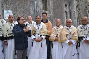 Intervista al Priore della Confraternita Giacomo Aiello prima della Processione della Madonna del Carmine 2016.