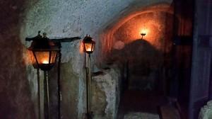 Ingresso Catacombe portate alla luce nel 1999.