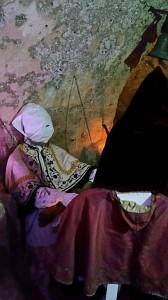 Catacomba riservata ai membri della Confraternita.