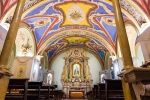 Ingresso Chiesa Madonna del Carmine.