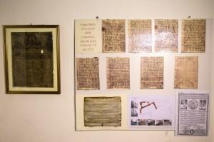Copie di pergamene.