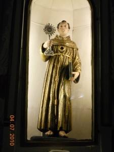 S. Bernardino da Siena.Patrono minore della città a seguito della sua visita avvenuta nel 1440