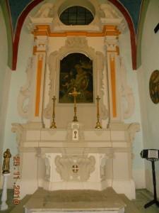Altare laterale.